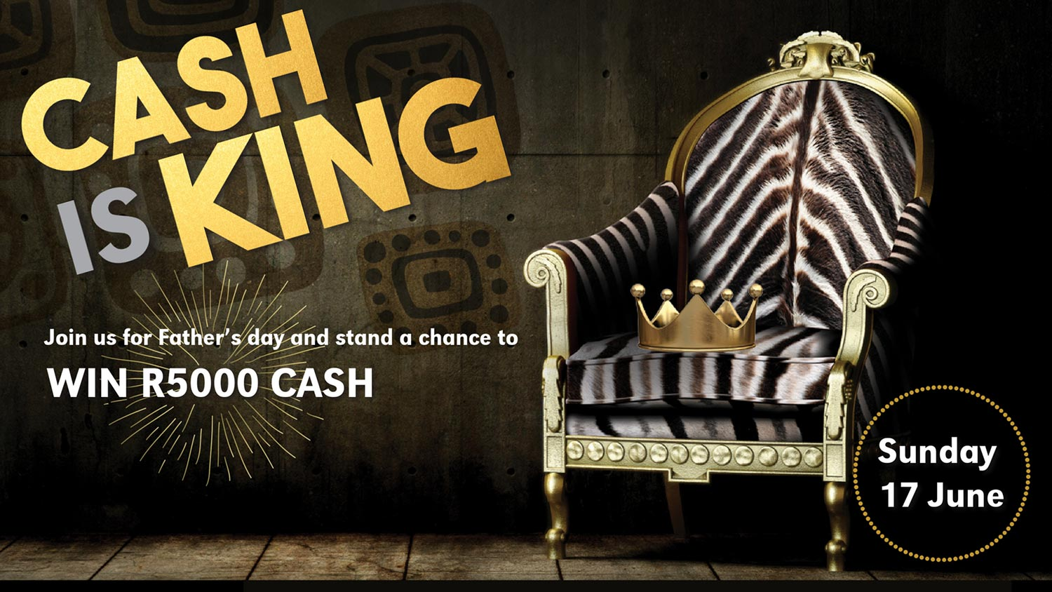 Cash Is King At Moyo This Coming Father's Day